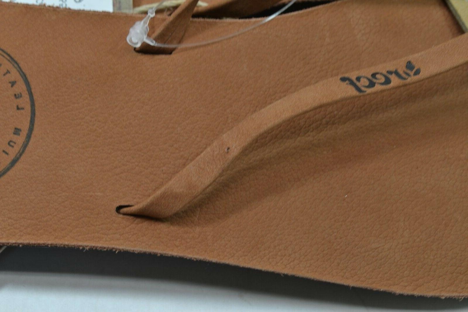 Reef LEATHER Leather 1492 Flip Discount Women's Sandals