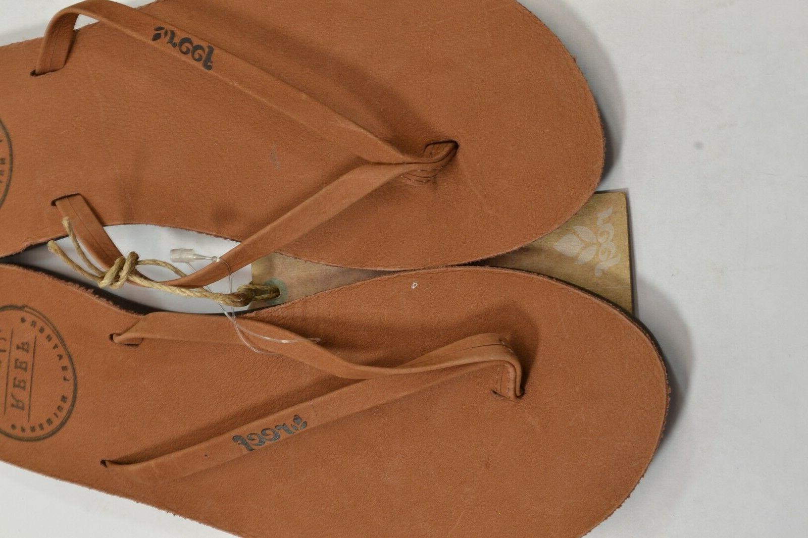 Reef UPTOWN Leather Flip Discount Sandals