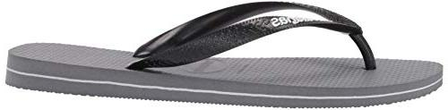 Havaianas Men's Filete Sandal, grey/white, 45/46 BR