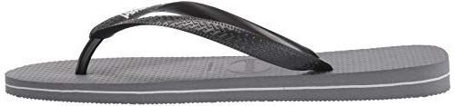 Havaianas Men's Top Filete Sandal, steel 45/46