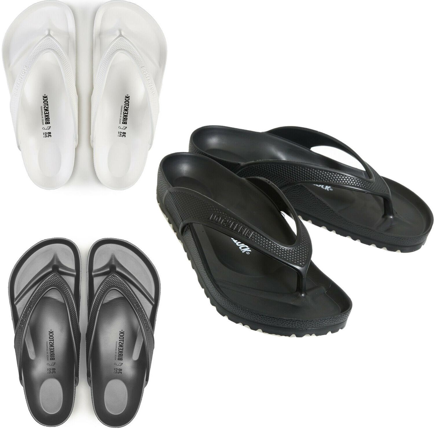 men honolulu eva flip flops black grey