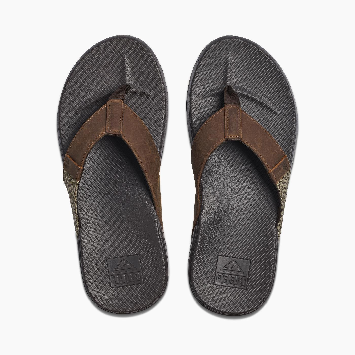 Reef Phantom SE Flops Brown/Tan NWT