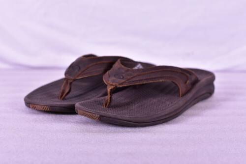 men s flex le slide flip flops