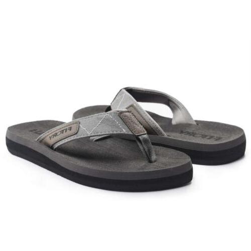 FITORY Men's Thongs Sandals for Beach