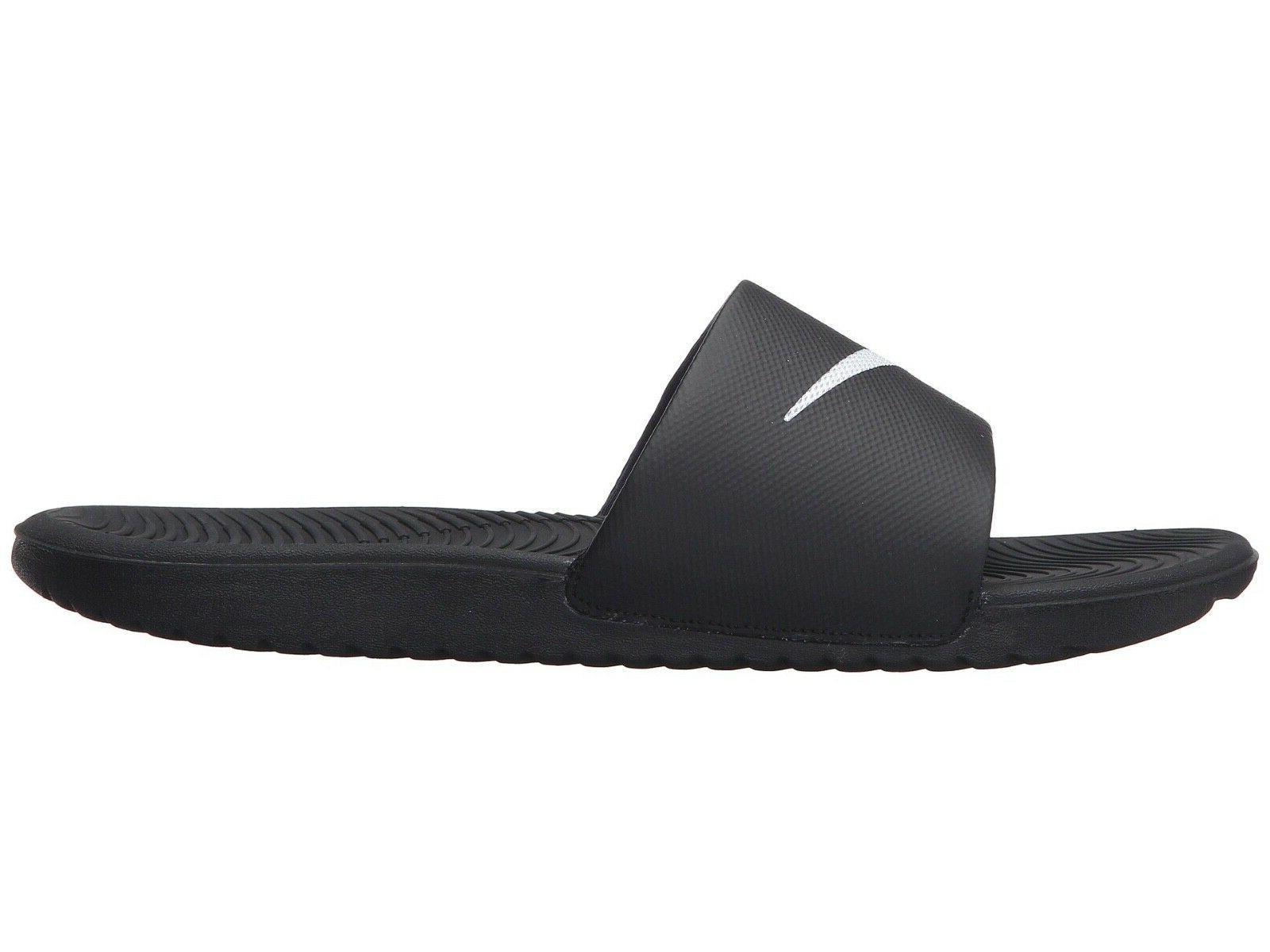 men s kawa slide sports sandal black