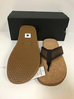 Ugg Flop Chestnut Leather