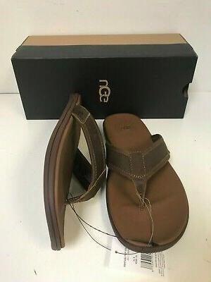 UGG Flop Leather Sandals - New