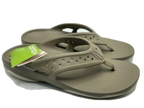 men s swiftwater deck flip flops size