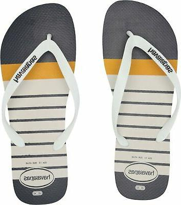 men s top nautical flip flop sandal