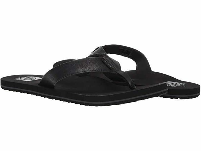 men s twinpin sandals flip flops black