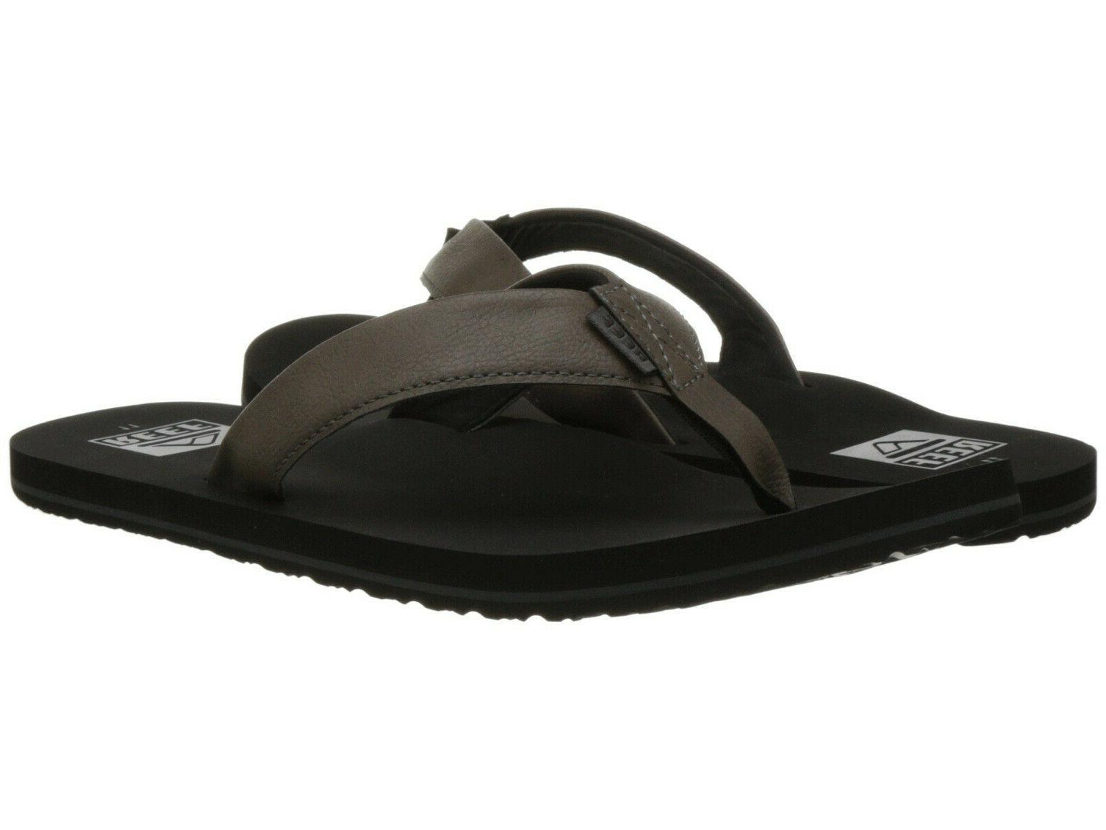 men twinpin flip flop sandal rf002915 grey