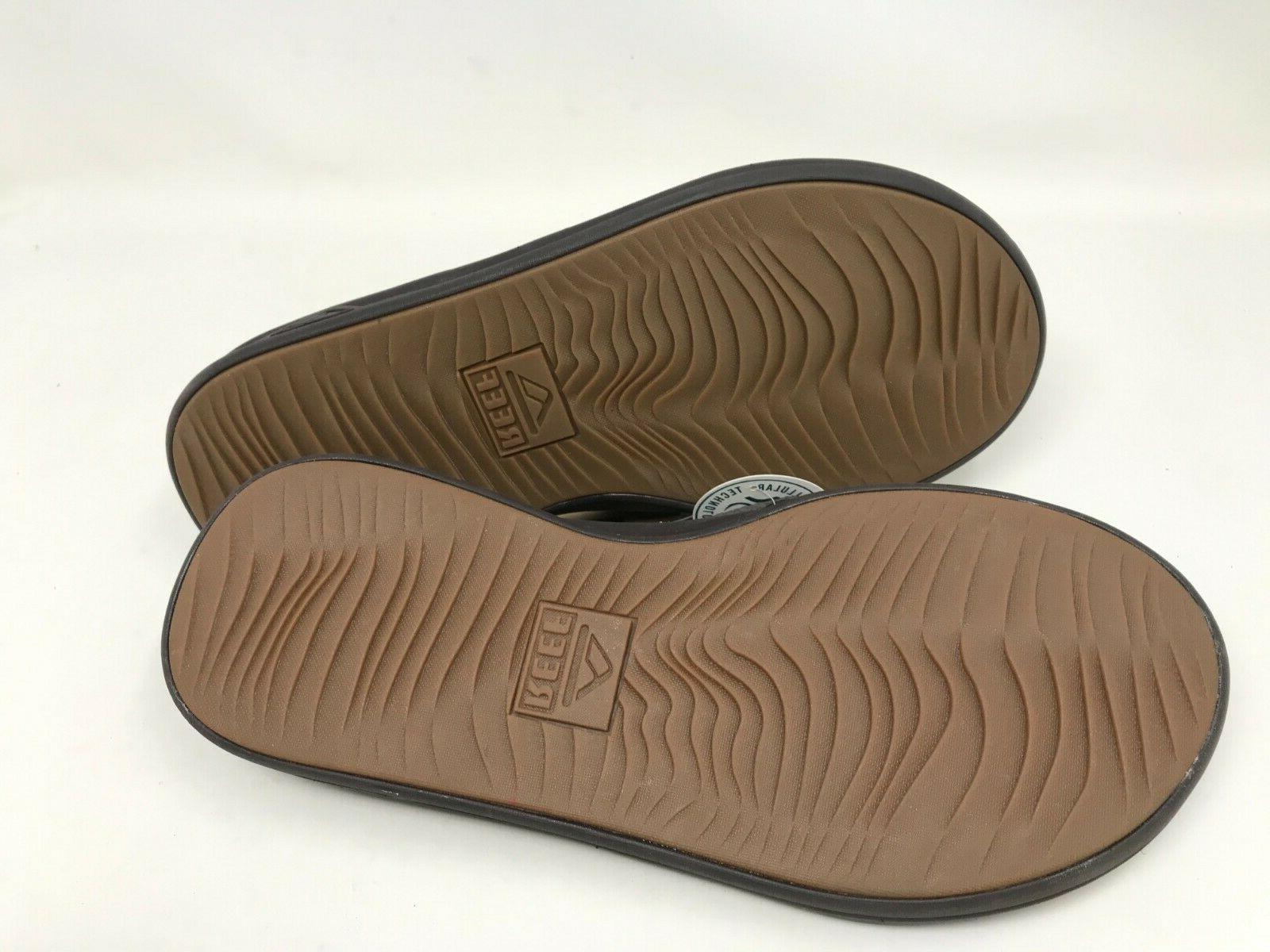 Mens Rover Brown Flip flops