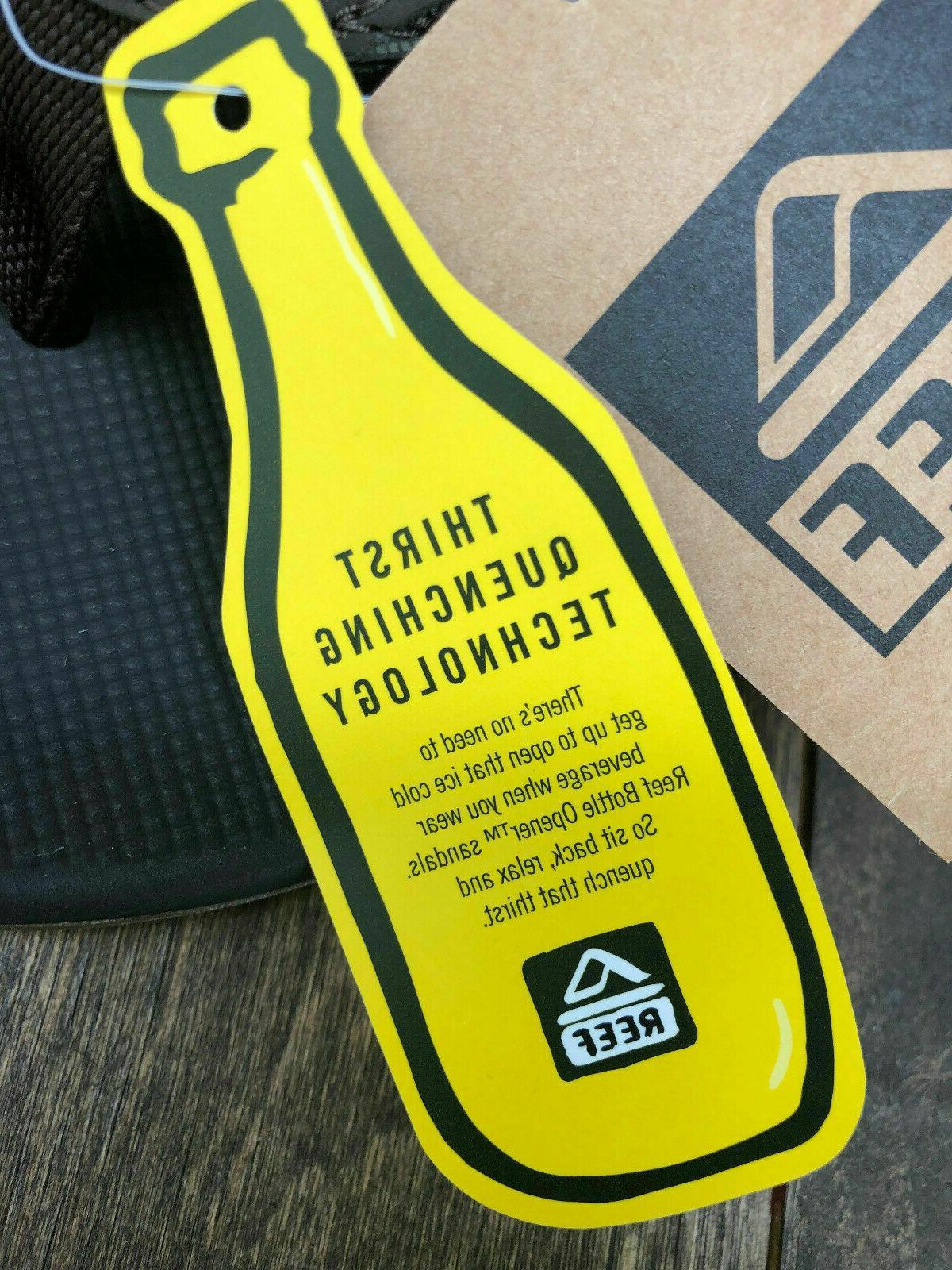 Mens Fanning Flops Sandals Bottle