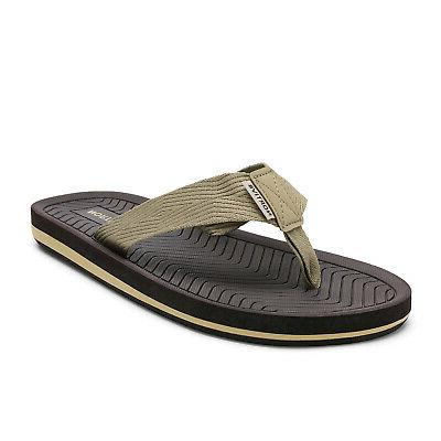 mens comfortable flip flops casual beach sandals