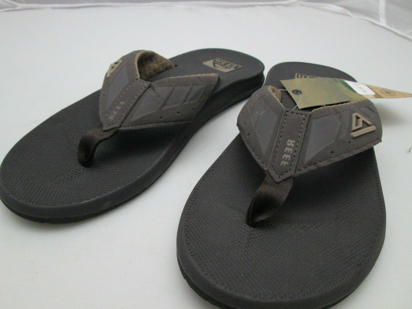 Reef Men's Flops Brown 2046 Tags