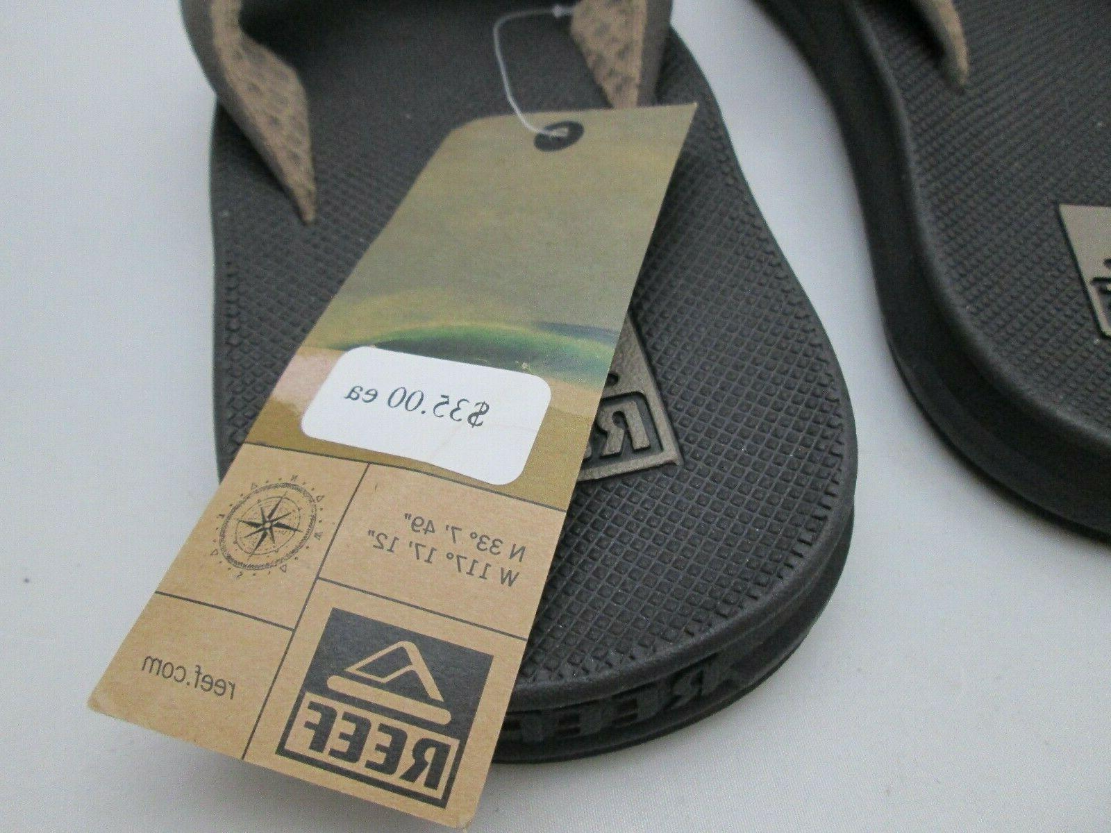 Reef Brown 2046 NEW Tags Size 10