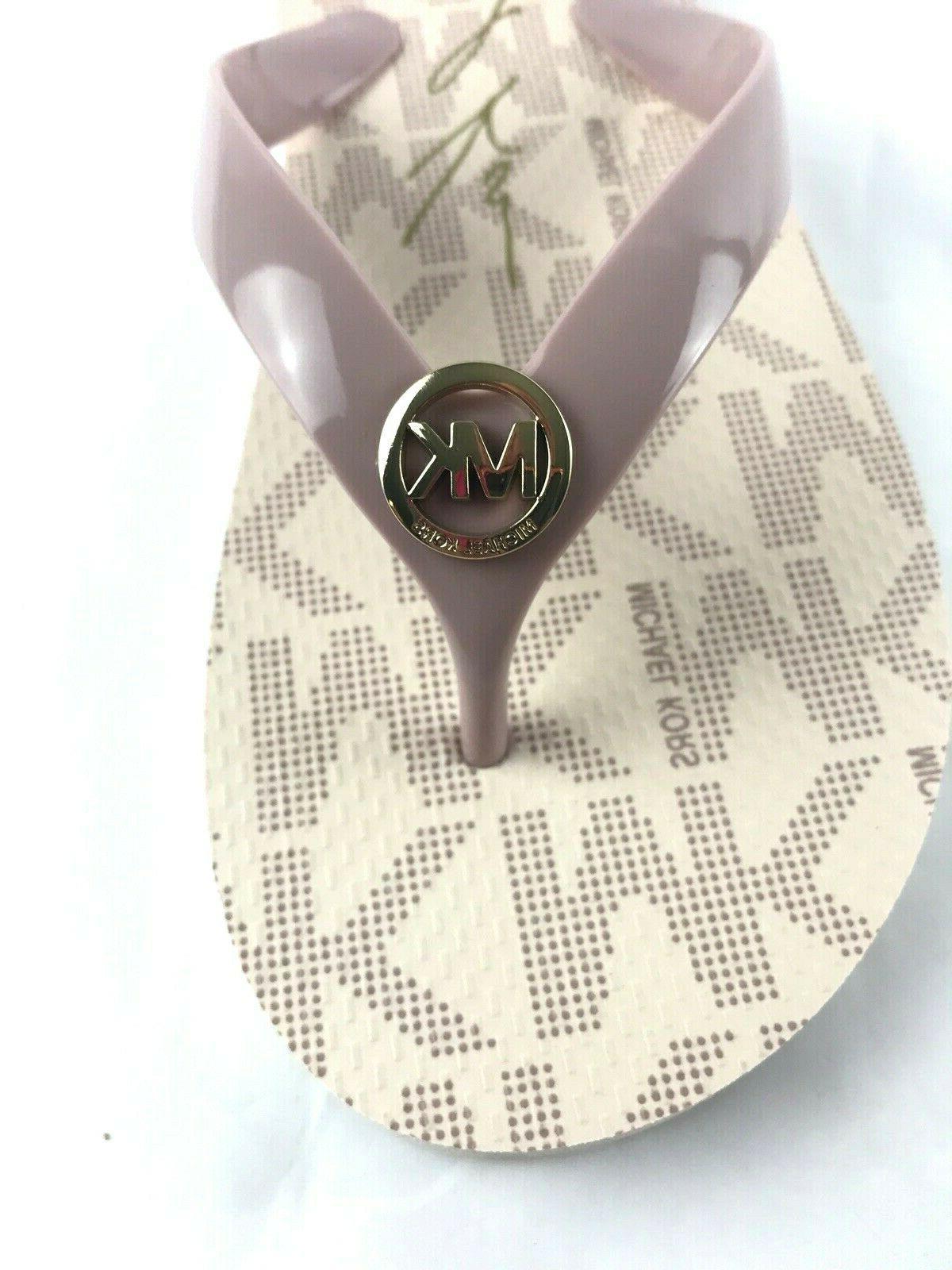 Flops Gold Set Womens PVC Size 8 New
