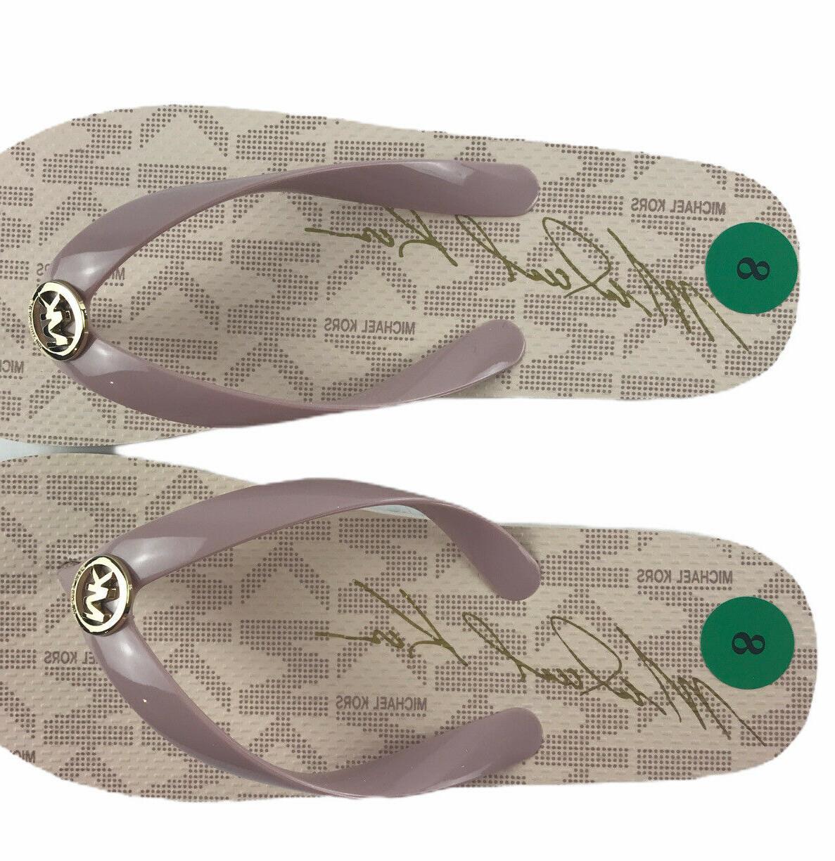 Michael Kor MK Flops Blush- Set Ballet PVC Size New