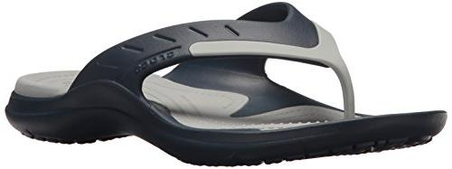 modi sport flip sandal navy light grey