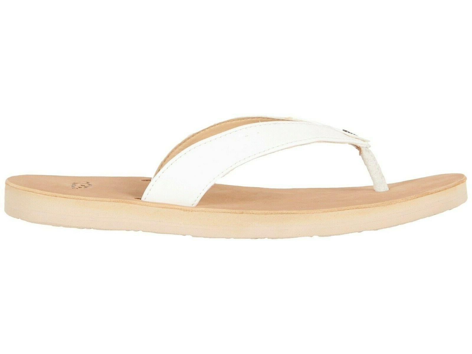 NEW UGG White Tawney Sandals Shoes
