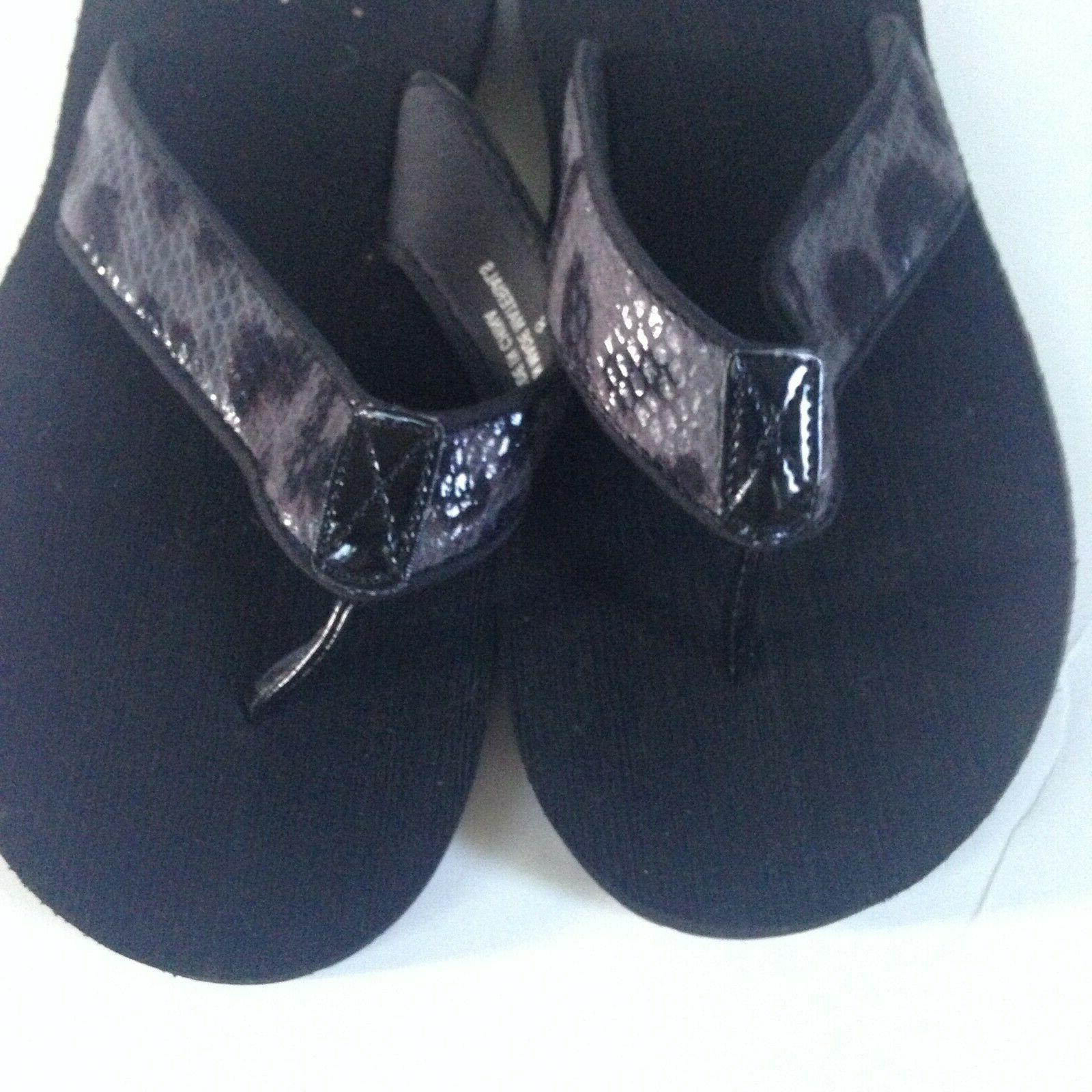 NEW! Speedo Women's Size 8 Gray Black Snakeskin Rubber