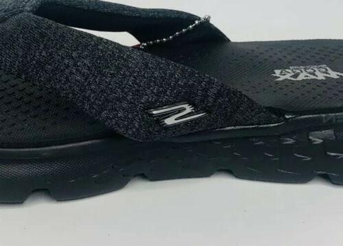 NEW Skechers Black Comfort Sandals Amputee RIGHT Shoe Only 6