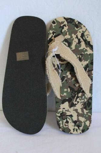 NEW Camo - 9 Sandals Cloth