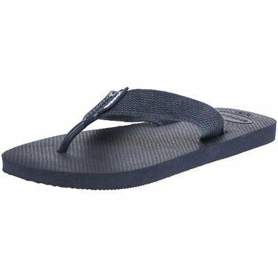 new mens navy urban basic textile sandals