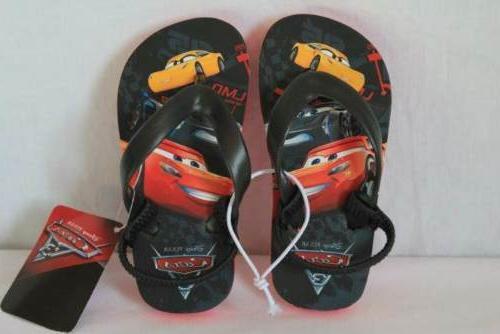 new toddler boys cars sandals flip flops