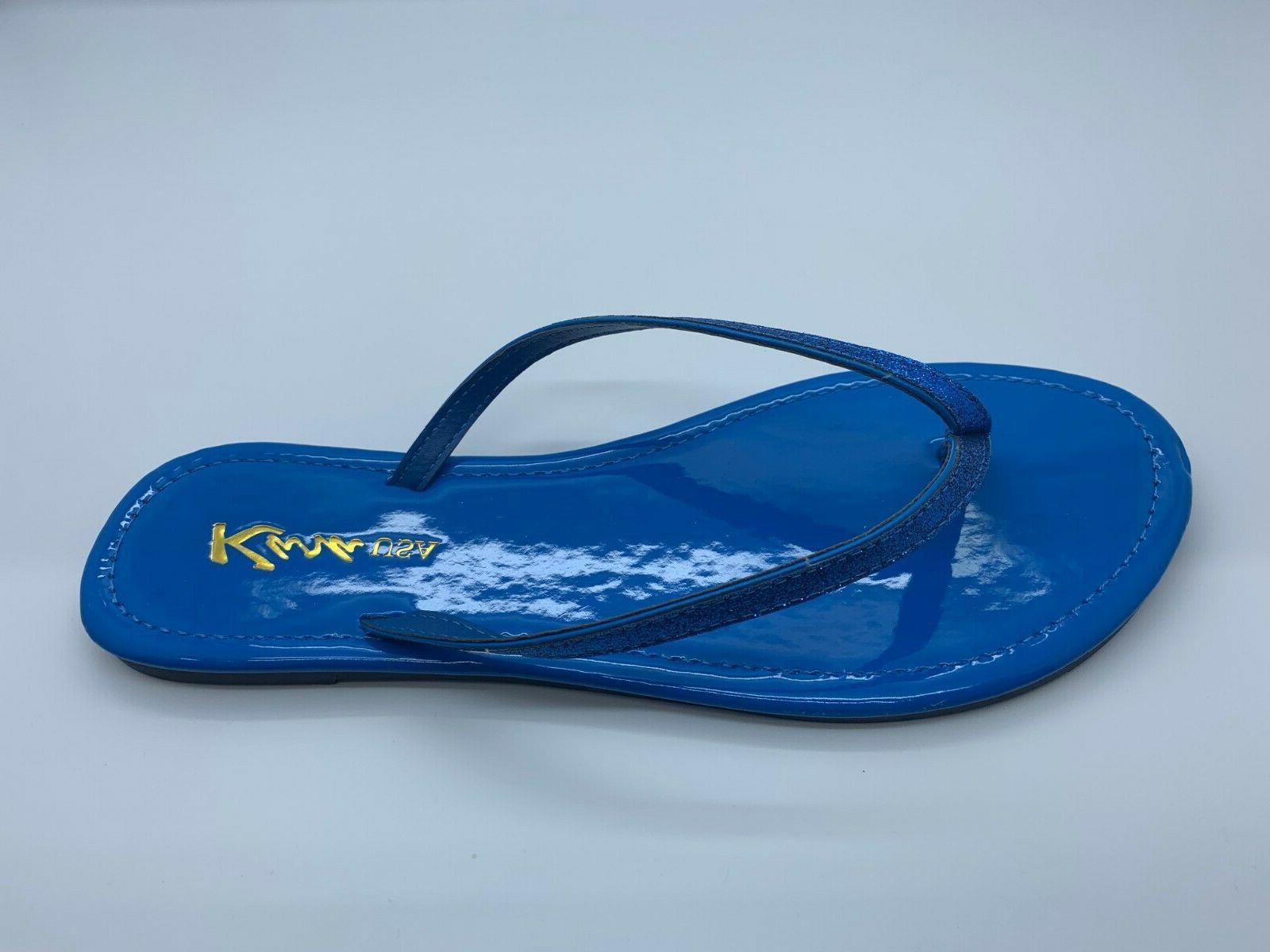 New Sandals Glitter Slipper Shoes Size