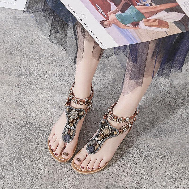 Shoes Thong Flat T Strappy