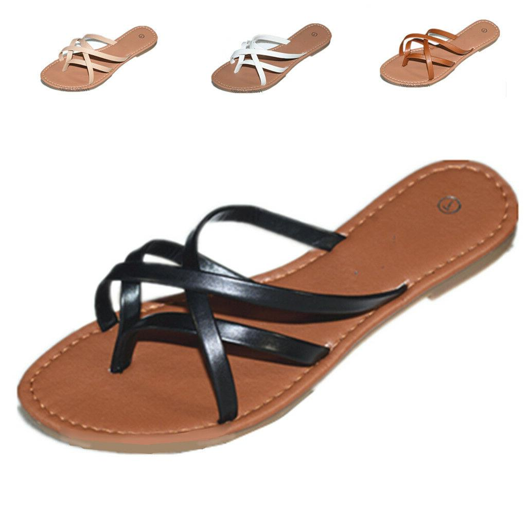 New Gladiator Shoes Thong Flops Flip Flat Slipper