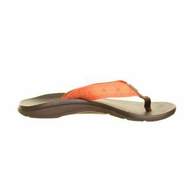 CHACO NEW Orange Ecotread Sandals Shoes