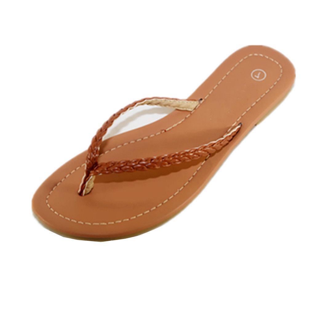 NEW Womens Comfort Casual Flops Sandals Slipper