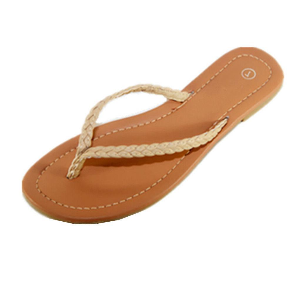 NEW Womens Summer Casual Flops Sandals