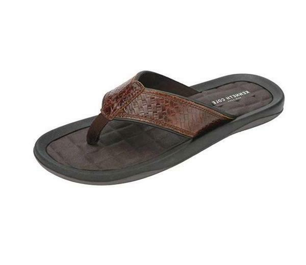 nib new york men s leather flip