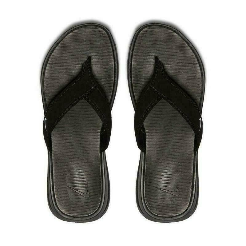 NWT Celso Thong Flops Black