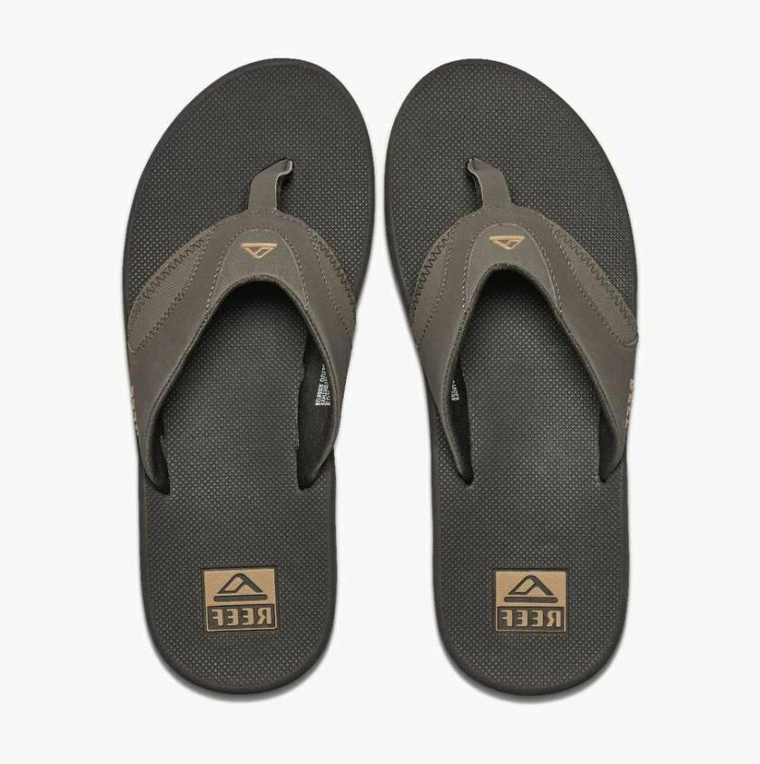 NWT Mens Flip Sandals 10 12 Brown NEW WITH $60