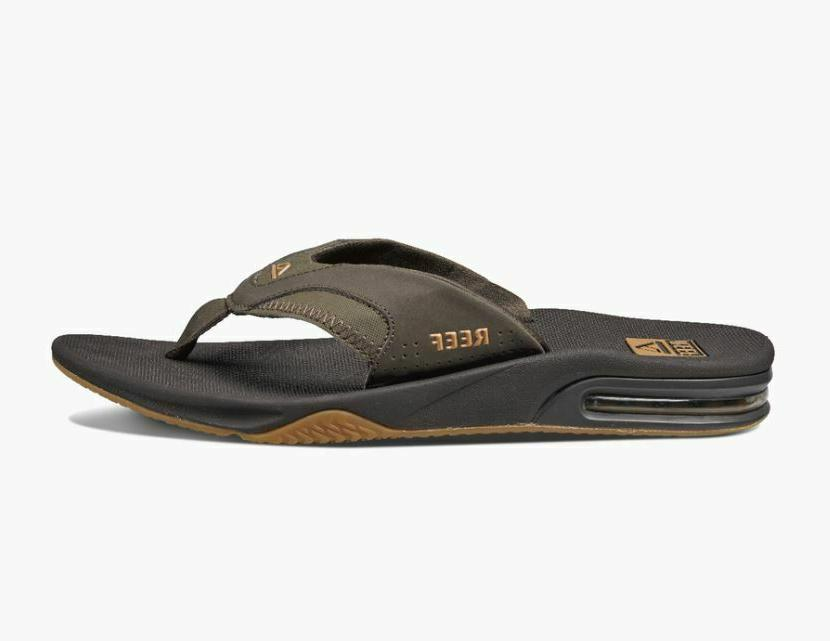 NWT Mens Flip Flops 10 11 12 Brown NEW WITH $60
