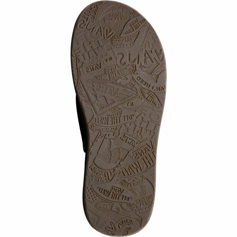 NWT FLIP FLOPS BLK RASTA Shoes US