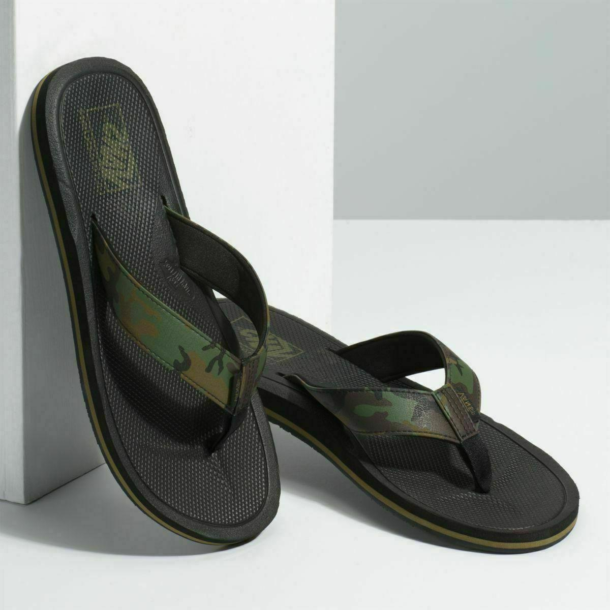 nwt nexpa synthetic flip flops sandals camo