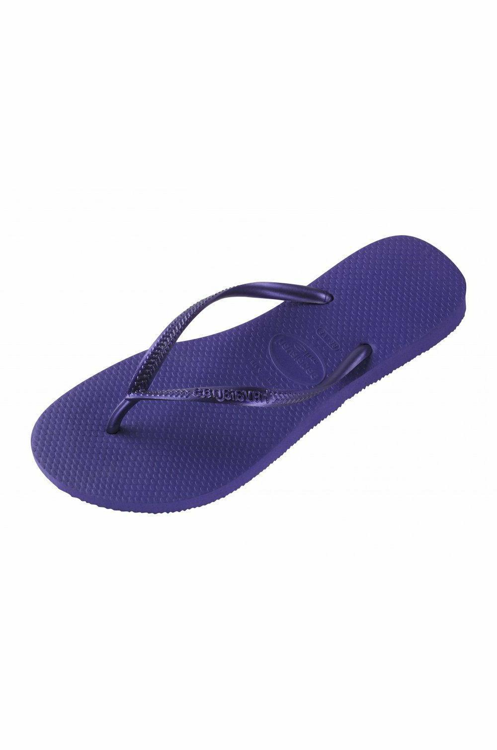 Original Flip Flops, Made Brasil, Navy Blue Purple.