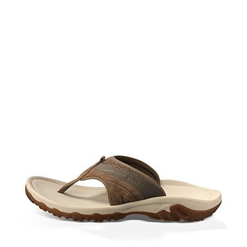 Teva Men's Pajaro M Flip Flop,Brown,14 M US