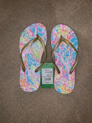 pool flip flops nwt new summer sandals
