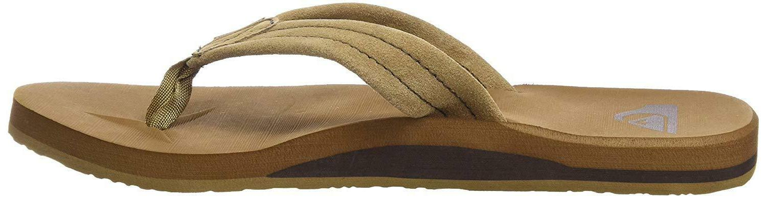 Quiksilver Men's 3-Point Flip-Flop