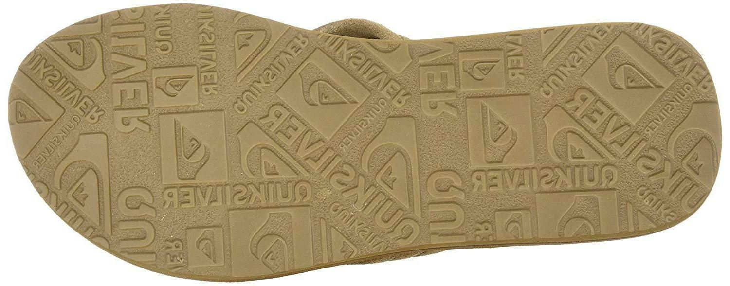 Quiksilver Carver Suede 3-Point Flip-Flop