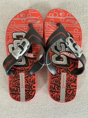 sandals hot wheels cars movie flip flops