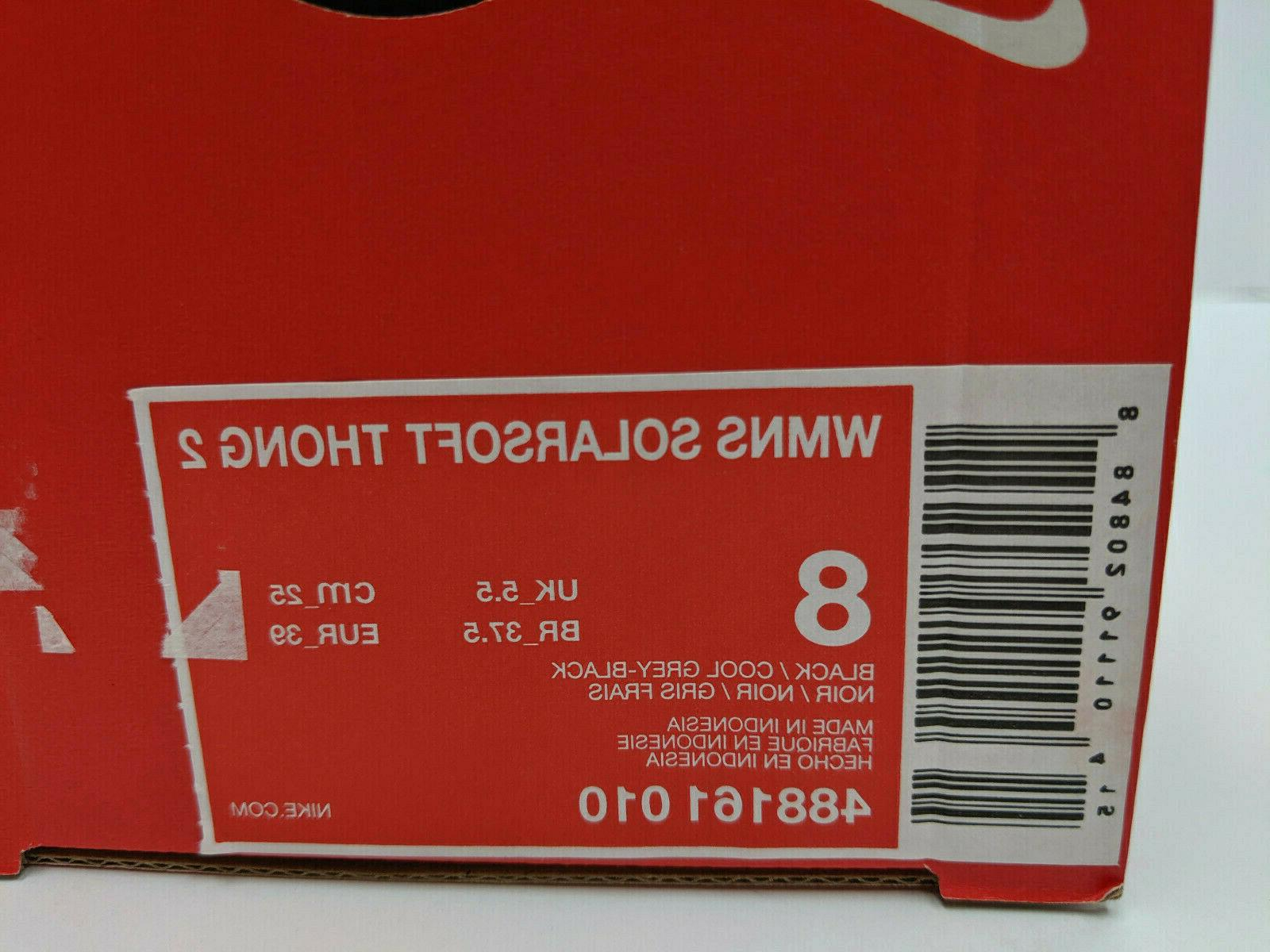 Nike Solarsoft Thong 2 Womens Flip Flops Sandals Thong NIB