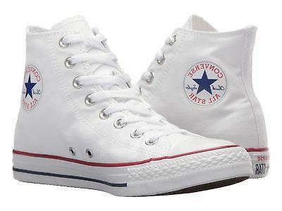 Converse Unisex All Star Hi Sneaker - Optic White OPT/WHT Si