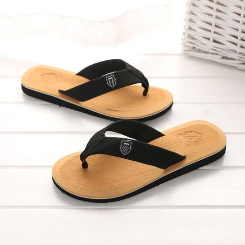 Summer Leisure Men's Flops Slippers Cosy Massage Thong